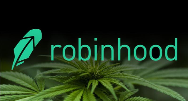 weed stocks on Robinhood