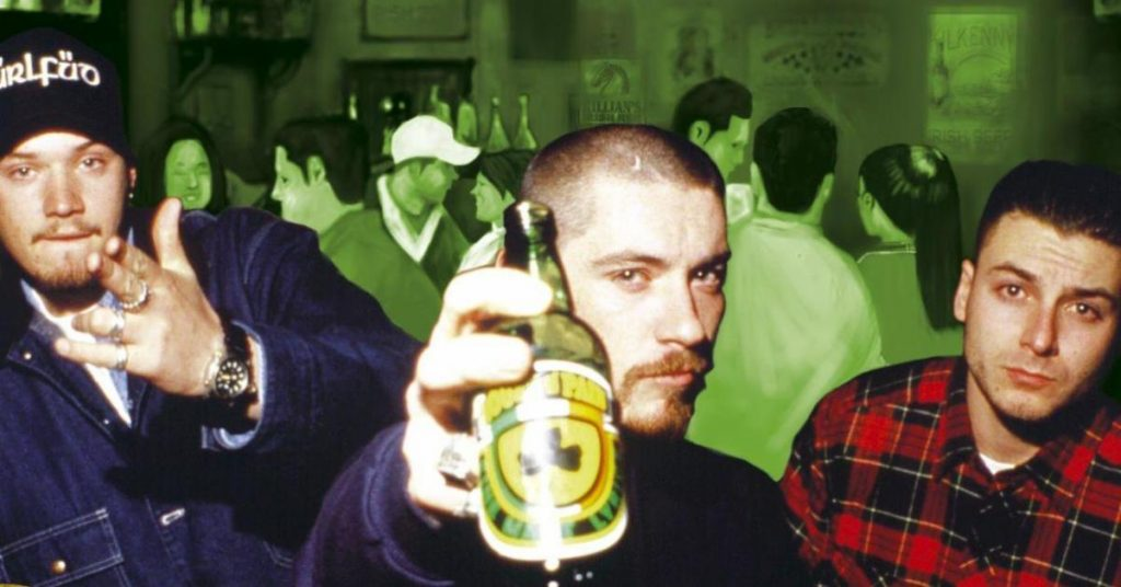 Danny Boy, Everlast and DJ Lethal, House of Pain circa 1990's