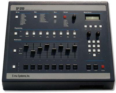 E-mu SP1200 Sampler   Beat Maker Machine