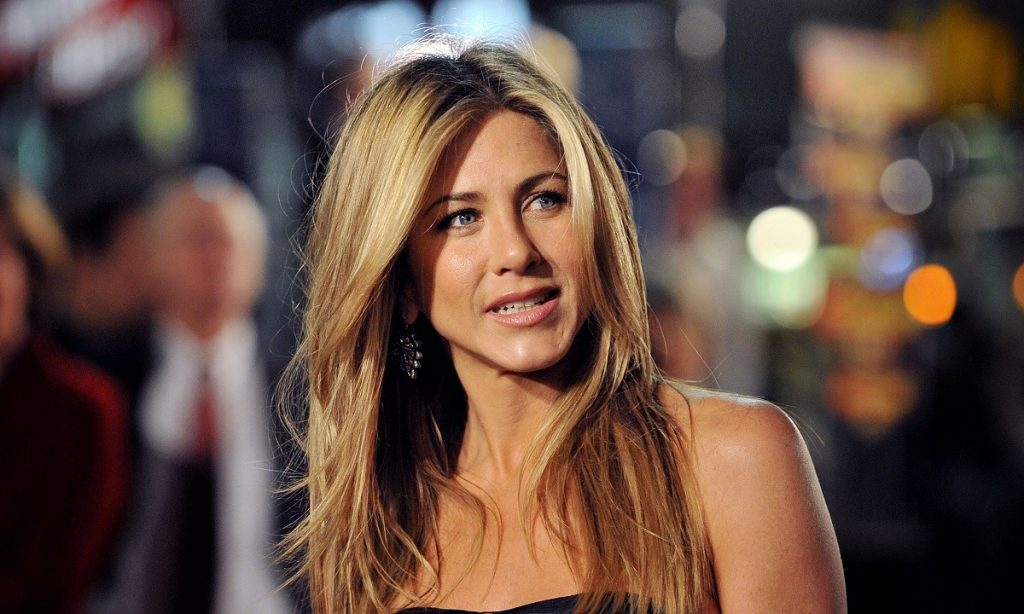 """Jennifer Aniston is most well known for her former wedlock to film superstar Brad Pitt and for her role as Rachel on the legendary TV sitcom """"Friends."""""""