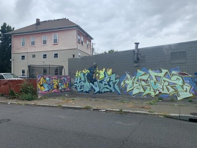 Graffiti showcase hip hop culutre