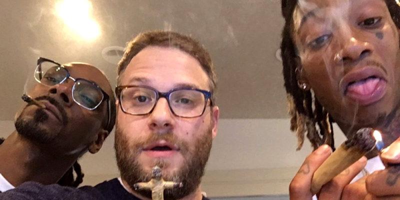 Seth Rogen   Celebrities who smoke marijuana