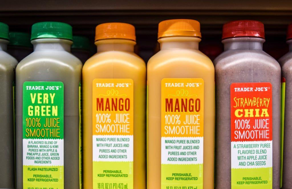Mango, Strawberry Chia | Vegan Trader Joe