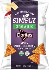 Dorito Flavors | Doritos Spicy White Cheddar