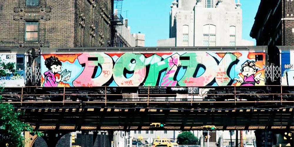 Dondi 198s NYC Graffiti