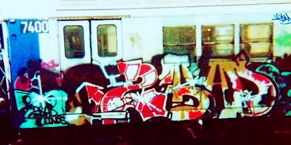 Kool 131 2 Bad | 25 Greatest NYC Graffiti Artists 1980s
