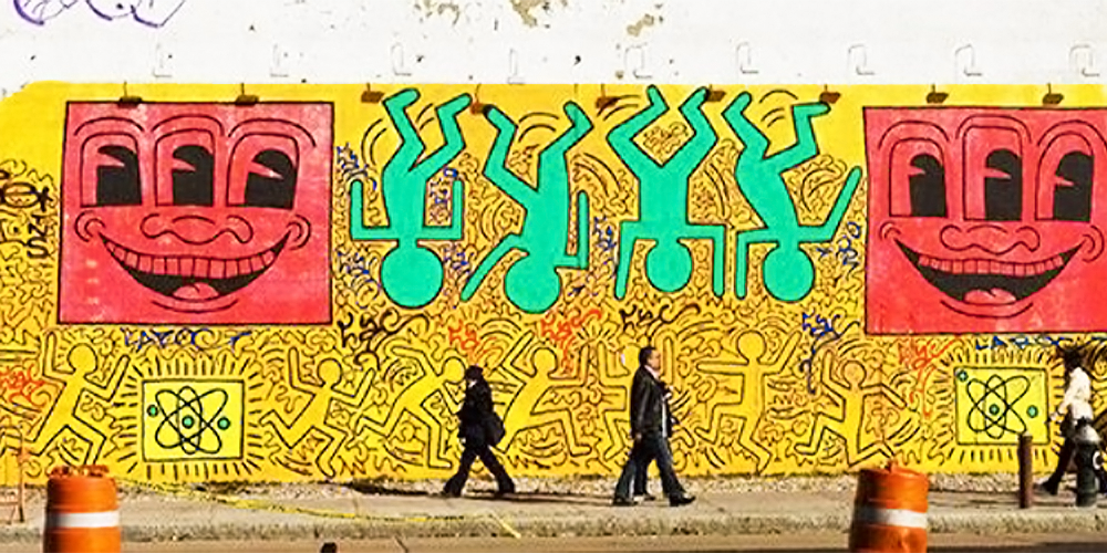 Keith Haring | 25 Greatest NYC Graffiti Artists of the 1980s