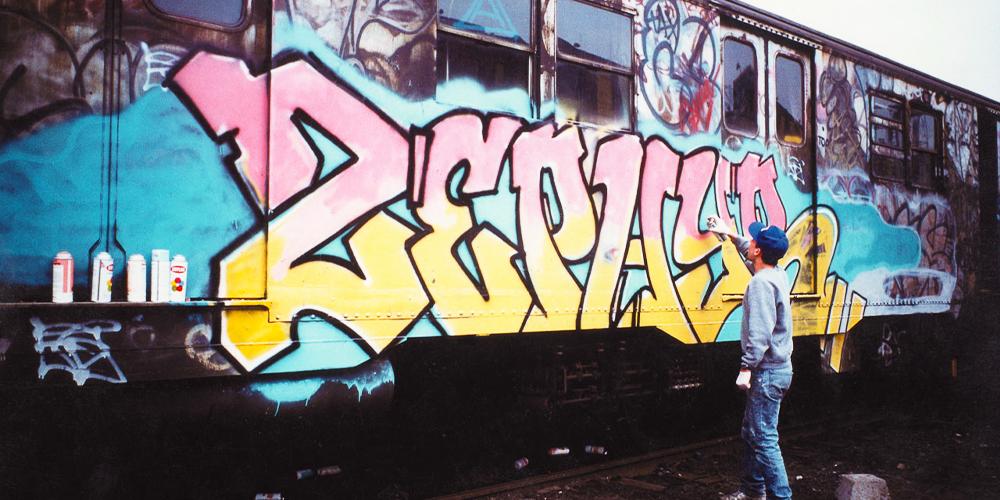 Zephyr 1980s NYC Graffiti