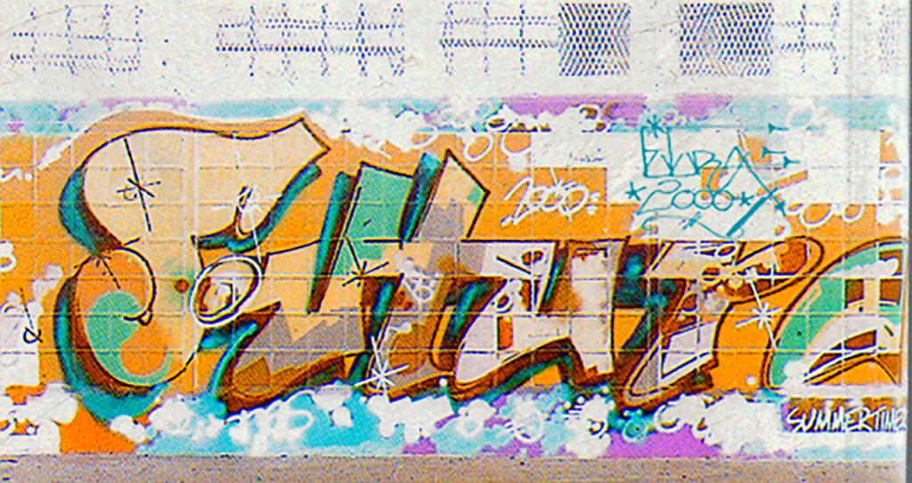 Futura 2000 1980s NYC Graffiti