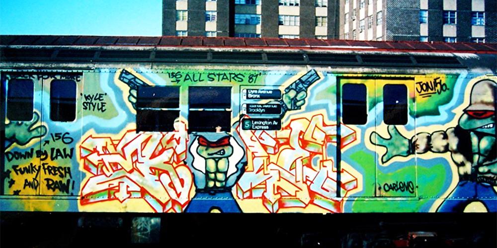 Kyle 156 | 25 Greatest NYC Graffiti Artists 1980s