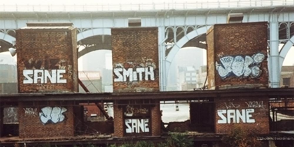 Sane Smith | 25 Greatest NYC Graffiti Artists 1980s