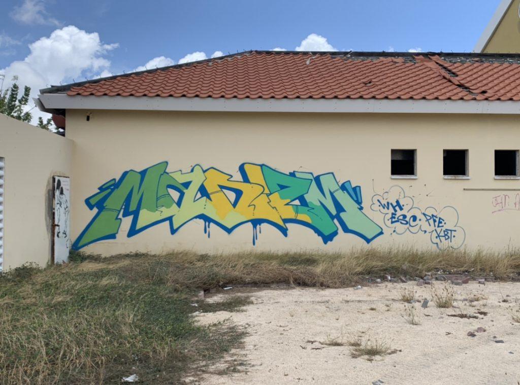 Mad Izm Aruba Philly Graffiti