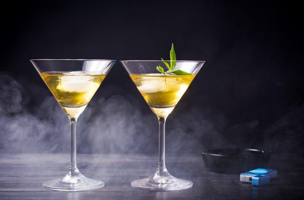 Cannabis Martinis