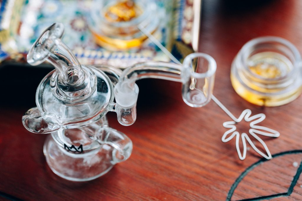 How a dab rig works?