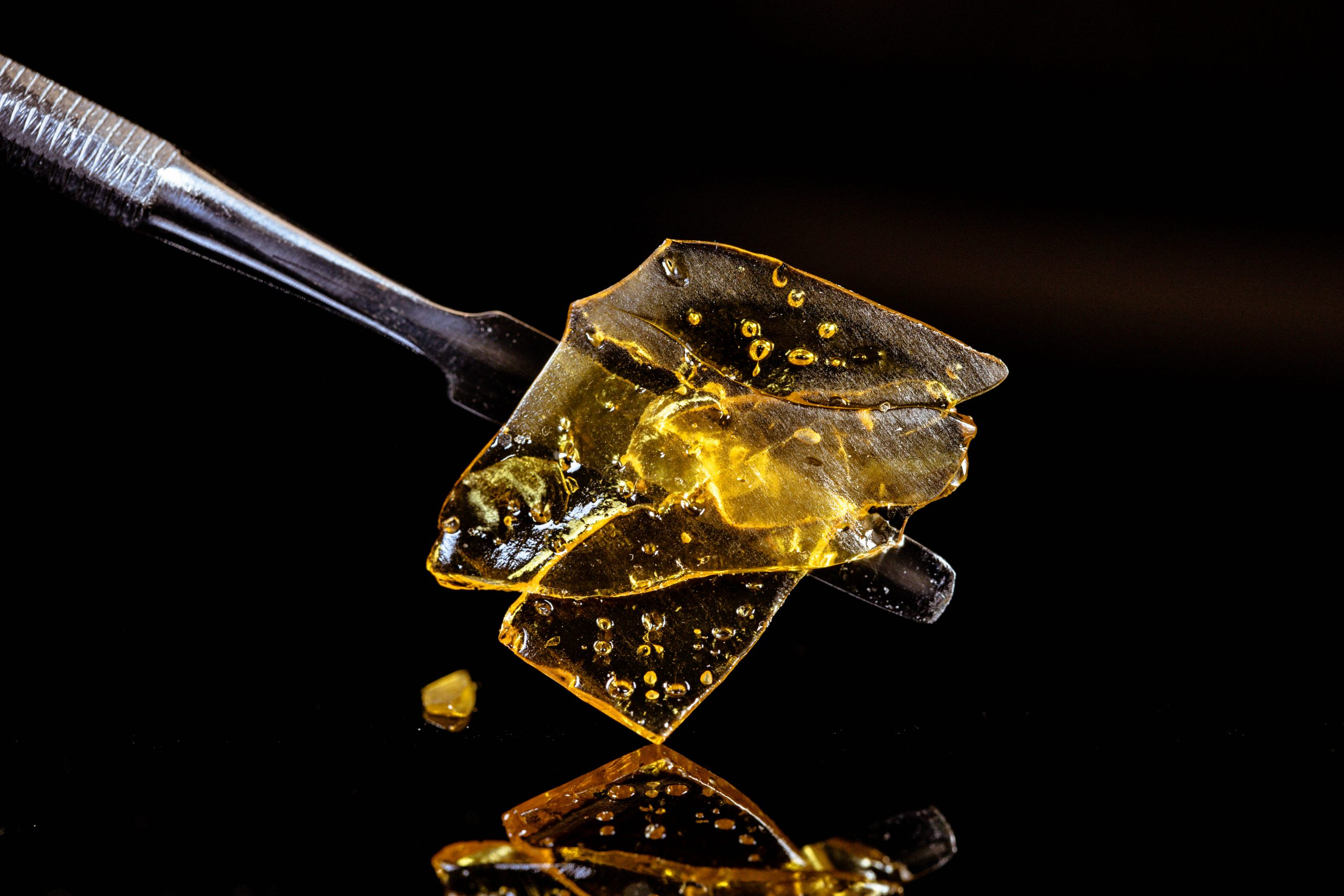 how to dab shatter